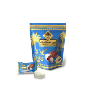 Chocolate Coated Dates with Coconut 100g-1